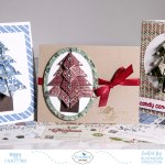 Sunday Stamping – Origami Christmas Trees
