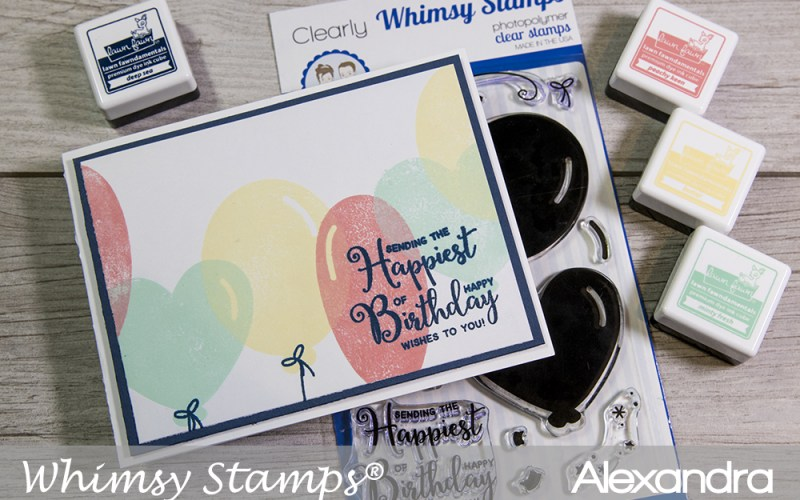 Whimsy Wednesdays – Quick & Simple Birthday Balloons