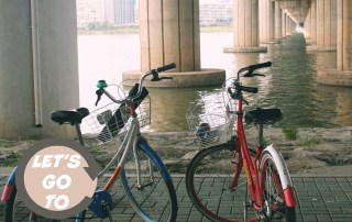 Renting Bikes on the Han River