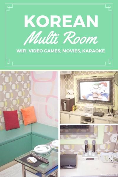 Korean Multi Room // Games, Karaoke, and more!