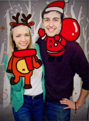 """Ha. I made you my reindeer!"""