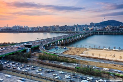 Han River Famous Bridges