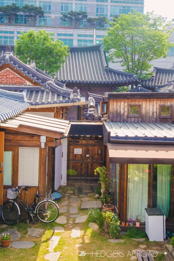 The Rooftop Jeonju Hanok Guesthouse - Hedgers Abroad