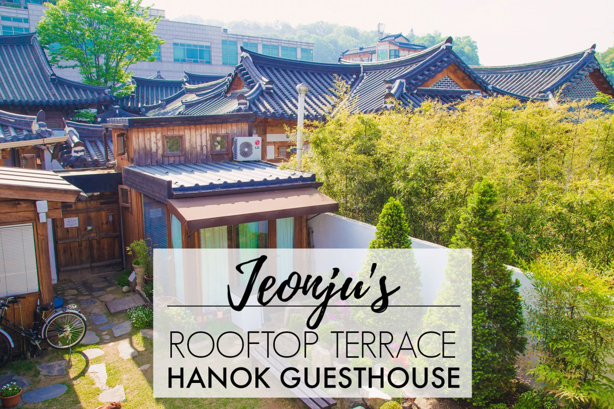Cellone Terrace // Jeonju Hanok Guesthouse // SOUTH KOREA