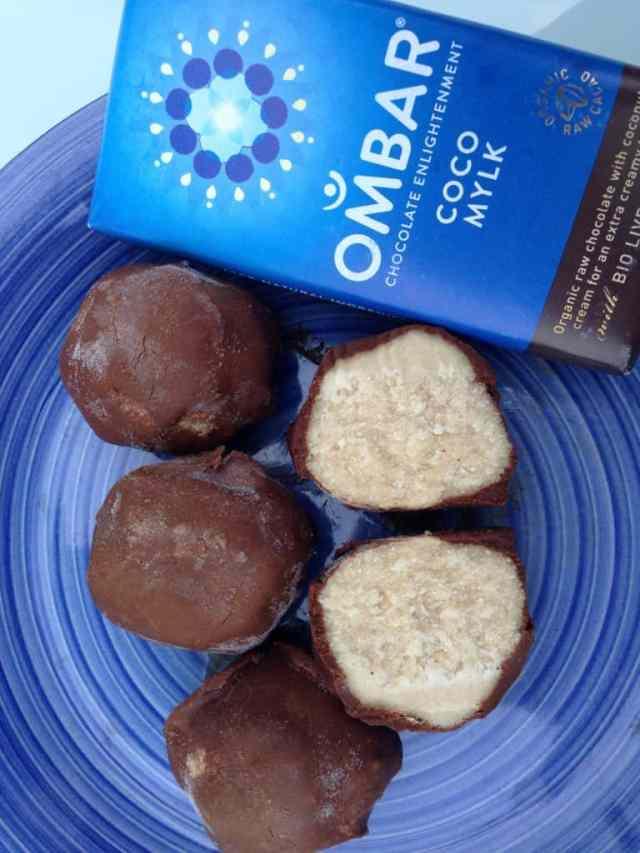 Protein truffles recipe 1