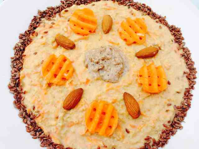Carrot cake porridge 2