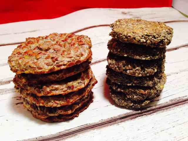 chia and flaxseed biscuits 4
