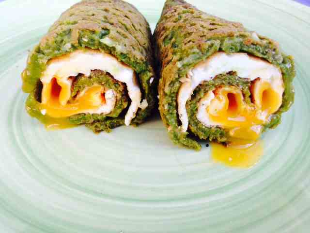 Clean Eating Diet - clean spinach tortilla