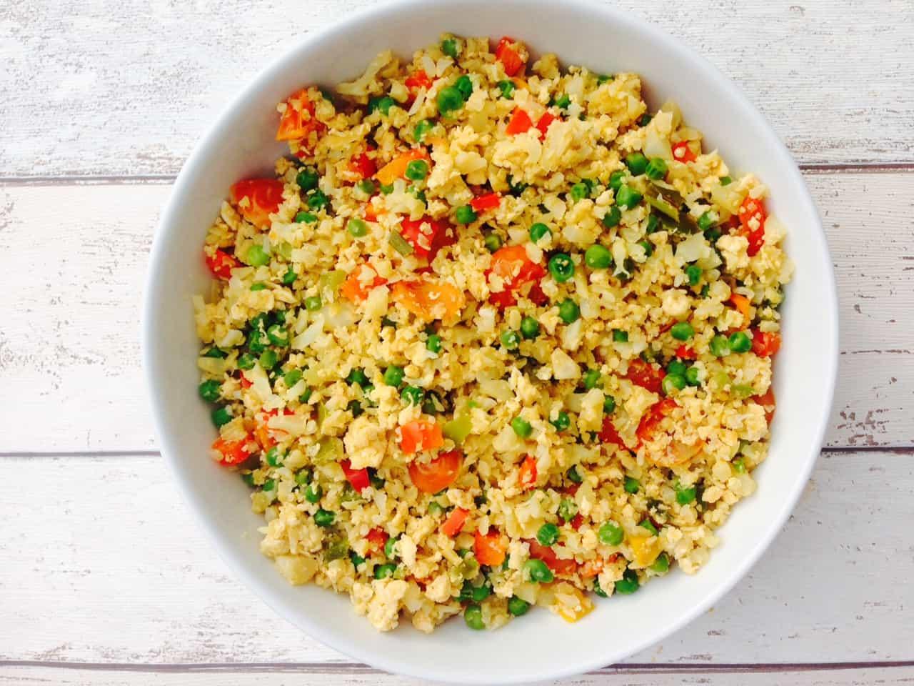 Cauliflower Rice Cakes Recipe