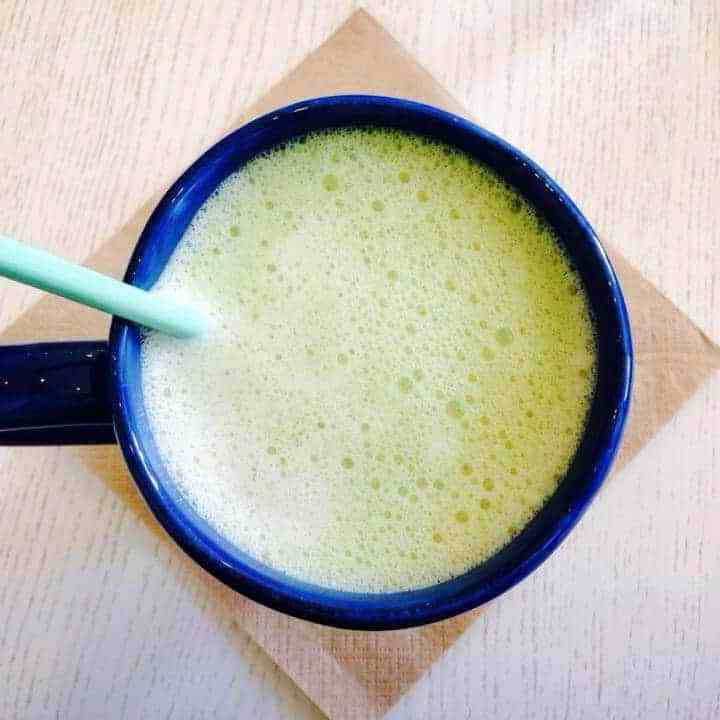 OMG Matcha Latte recipe