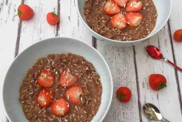 Cauliflower porridge recipe