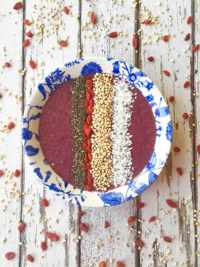 Acai berry bowl recipe - Image 1