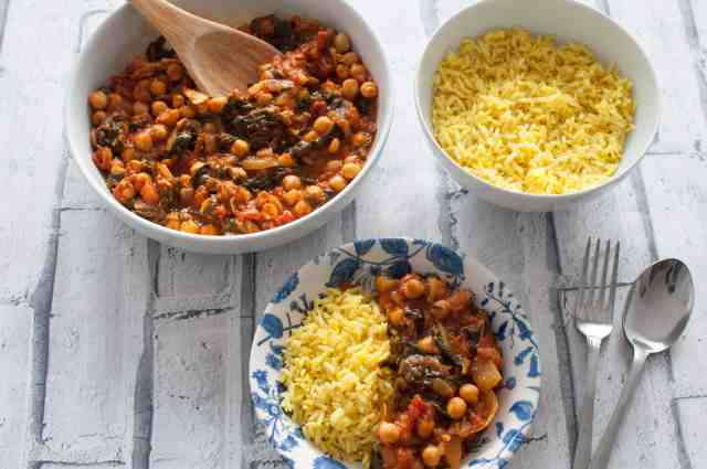 Clean eating chickpea curry recipe 3