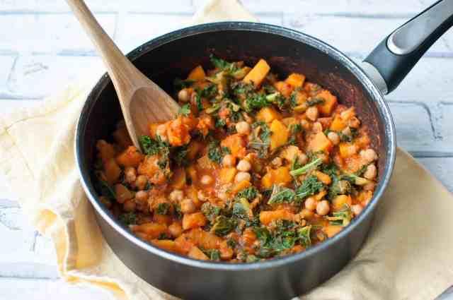 Clean eating butternut squash stew recipe