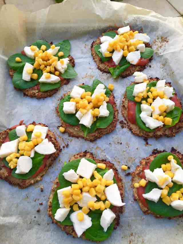 Mini cauliflower pizzas recipe 2