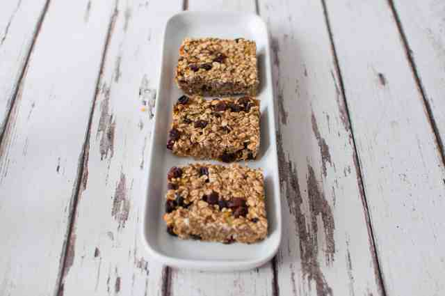 Healthy breakfast bar recipe 2