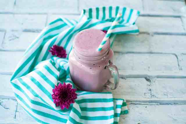 Sweet potato smoothie with lingonberry recipe 7