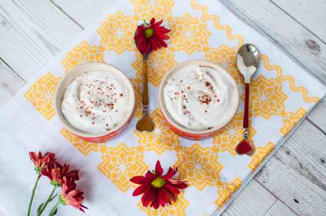 Clean eating whipped cream recipe made with only 1 ingredients. No dairy, gluten free, sugar free, vegan and vegetarian free. Absolutely gorgeous!