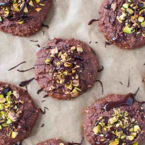 Clean eating chocolate and orange cookie recipe