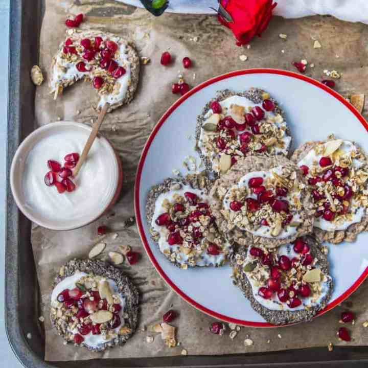 Chia and flax seeds biscuits recipe