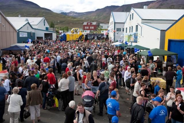 Talið að yfir 33.000 hafi heimsótt Fiskidaginn mikla á Dalvík