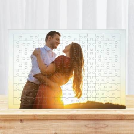a3 renkli puzzle 240 parca kisiye ozel resimli | Hediye Fanusu