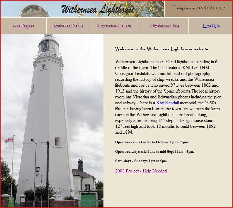 withernsea-lighthouse-museum-website-screenshot