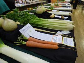 Vegetable entries