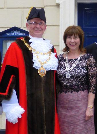 Mayor and Mayoress