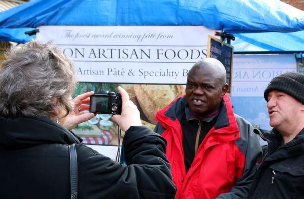 Photos with Archbishop