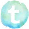 watercolor styled tumblr icon