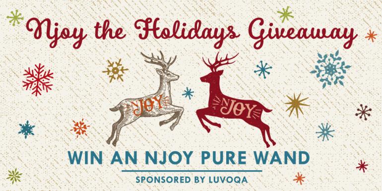 Njoy the Holidays Giveaway - Hedonish.com