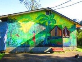 Hedonisia Community Barn Mural