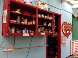 Shared Community Food Shelf and Heartboard
