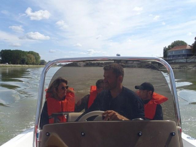 turističko razgledanja Osijeka gliserom