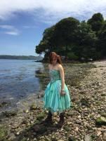 Sea Green Mermaid Dress Tutorial 13