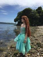 Sea Green Mermaid Dress Tutorial 14