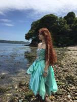 Sea Green Mermaid Dress Tutorial 15