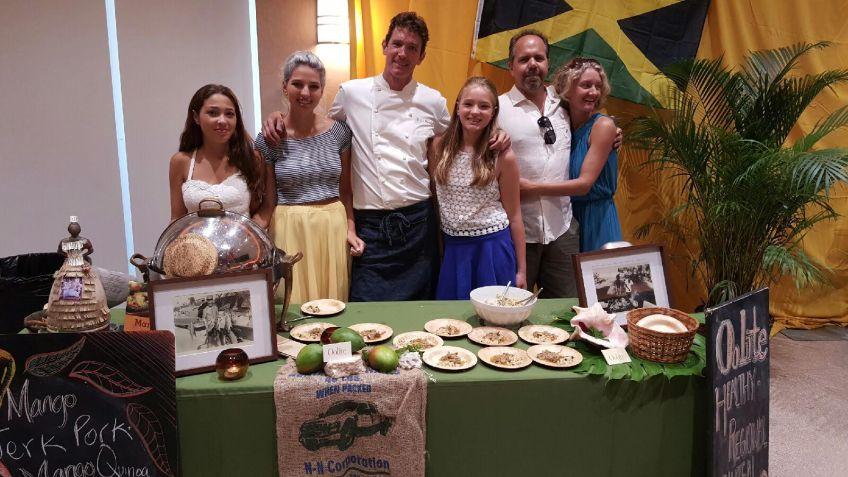 Kris Wessel of Oolite miami mango festival brunch