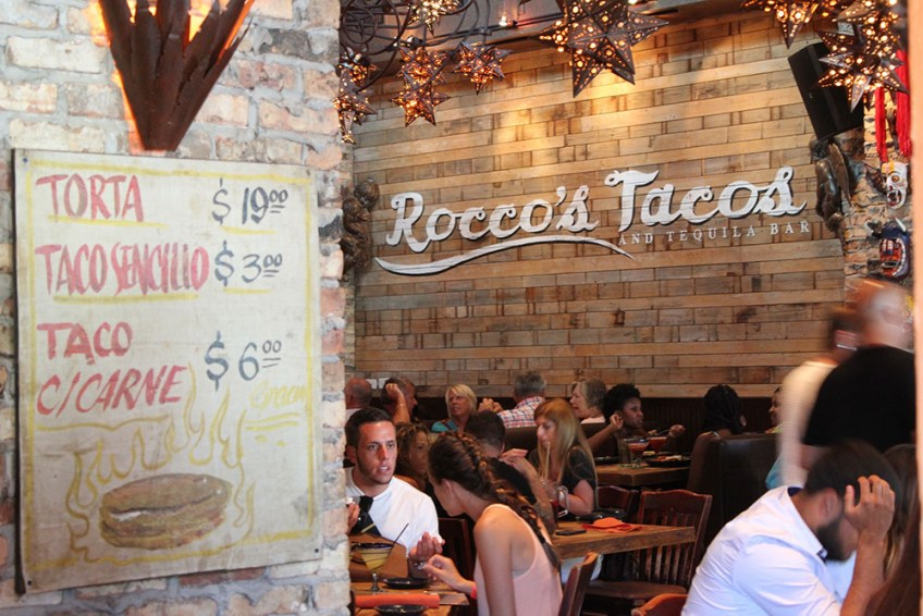 Rocco's Wall Dining Room