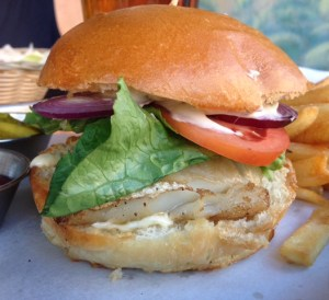 Bait and Hook Fish Sandwich