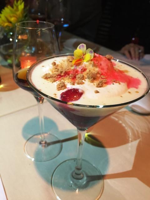 Miami Spice Dessert Zuppa Inglese In Alkermes