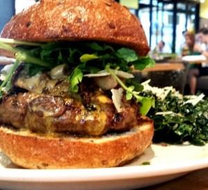 True Food Kitchen- Bison Burger