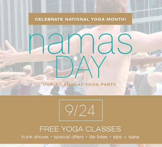 free yoga classes national yoga day