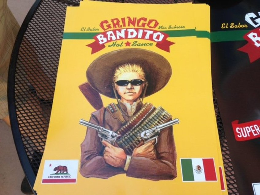 Homegrown Meat and Chronic Taco Gringo Bandito Poster