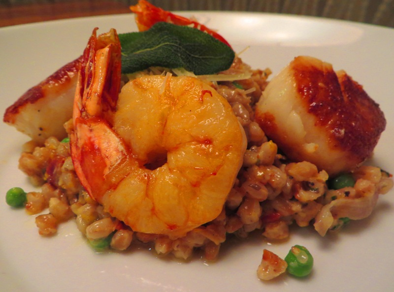 McCoys Oceanfront Seafood FARRO RISOTTO