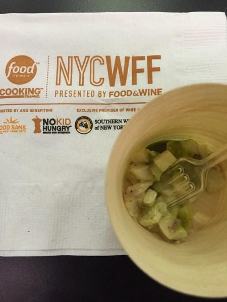 NYCWFF Swordfish Ceviche