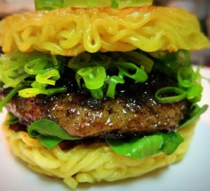 NYCWFF ramen burger party