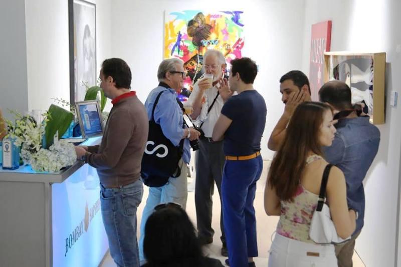 Art Basel Miami - Bombay Sapphire Lounge at Scope