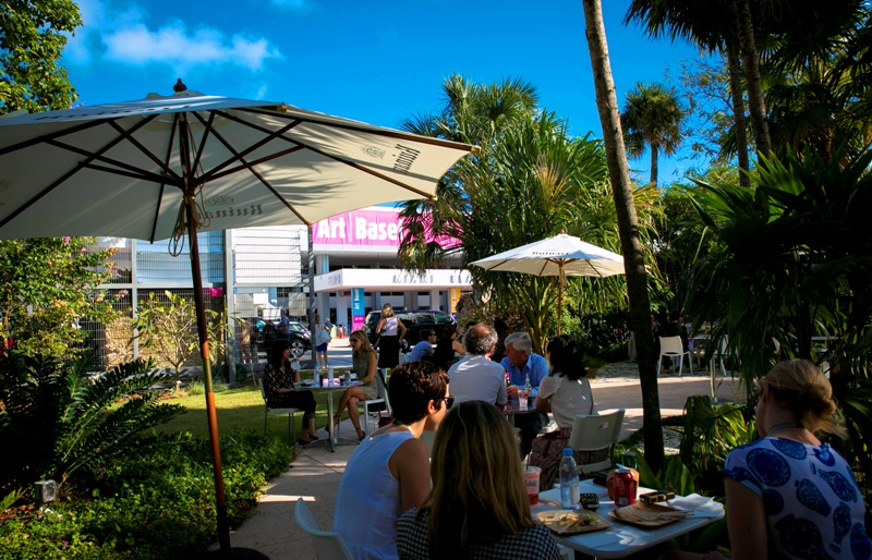 Art Basel Miami -Garden Cafe - courtesy of Michelle Bernstein